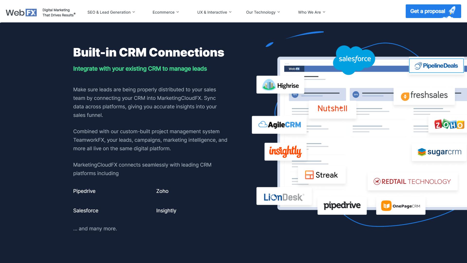 MarketingCloudFX – Marketing automation software by WebFX4