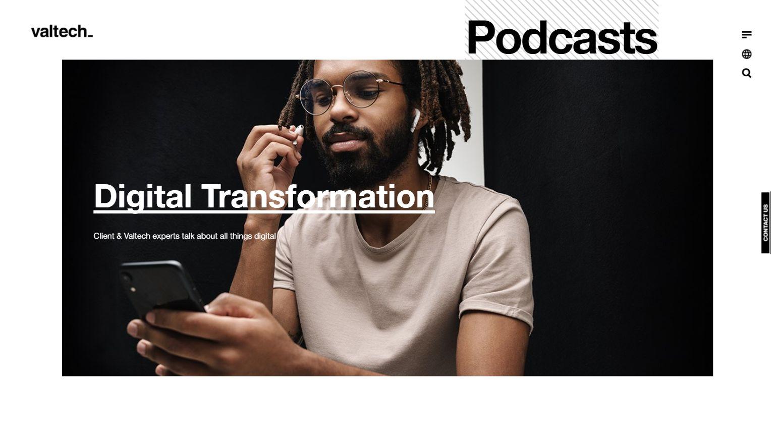 Podcasts I Valtech