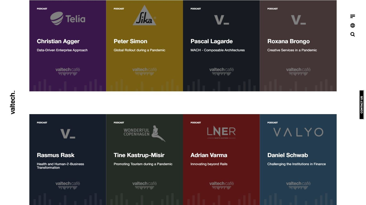 Podcasts I Valtech3