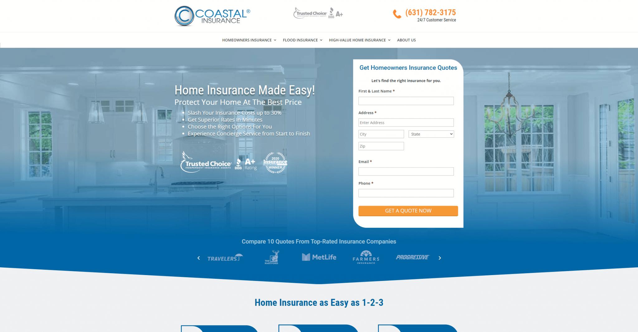 coastalinsurancesolution.com