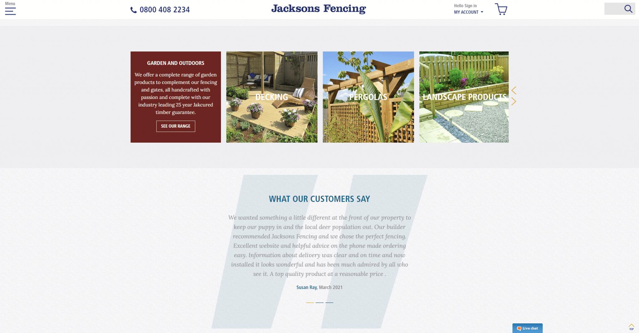 https___www.jacksons-fencing.co.uk_ Garden Fencing, Fence Panels, Garden Gates, Trellis – Jacksons __003