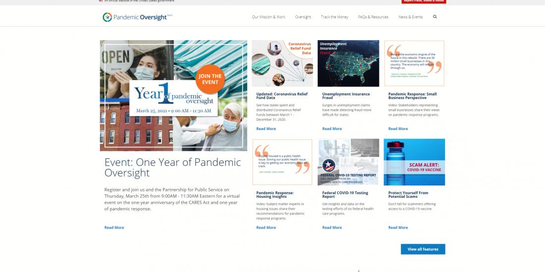 www.pandemicoversight.gov