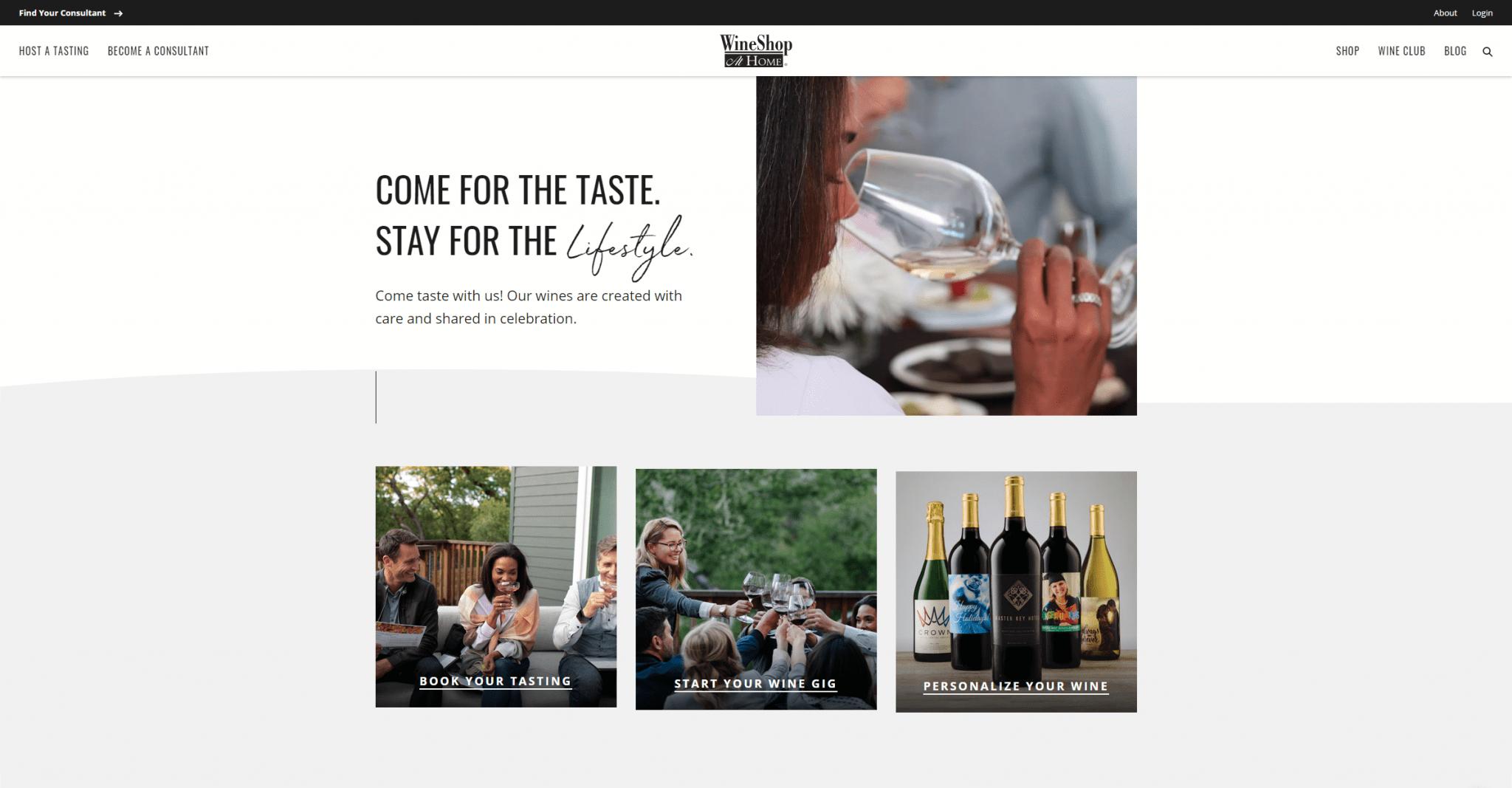 www.wineshopathome.com