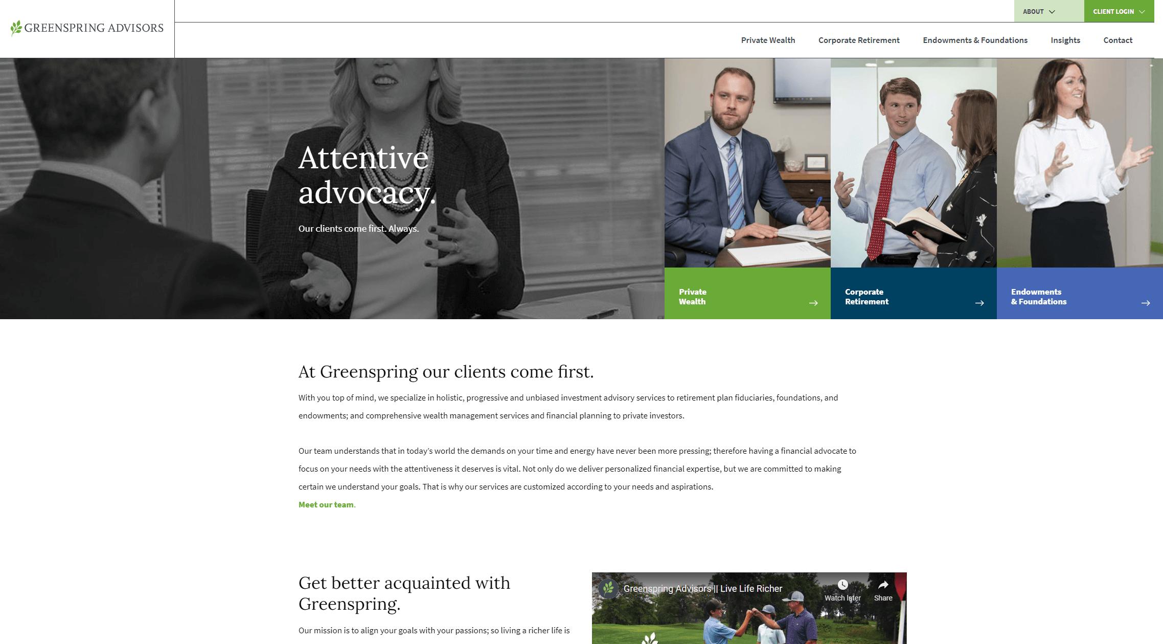 greenspringadvisors.com