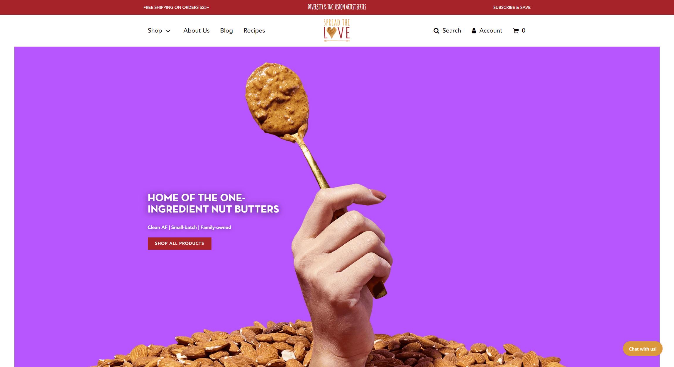 spreadthelovefoods.com