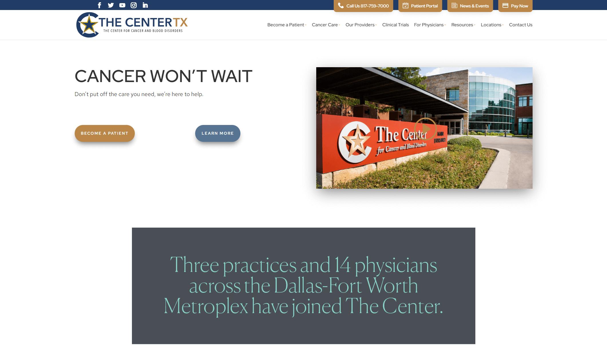 thecentertx.com