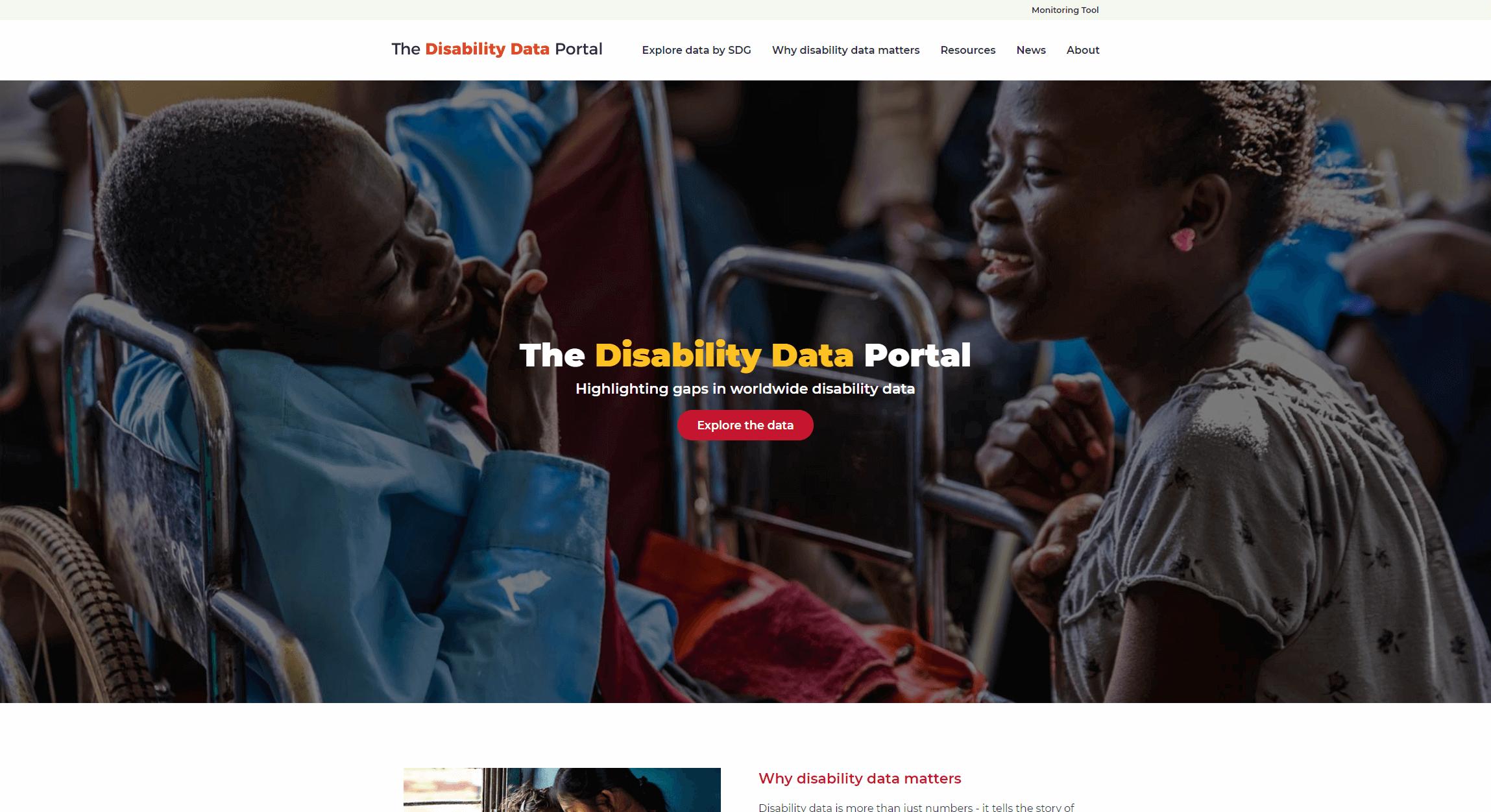 www.disabilitydataportal.com