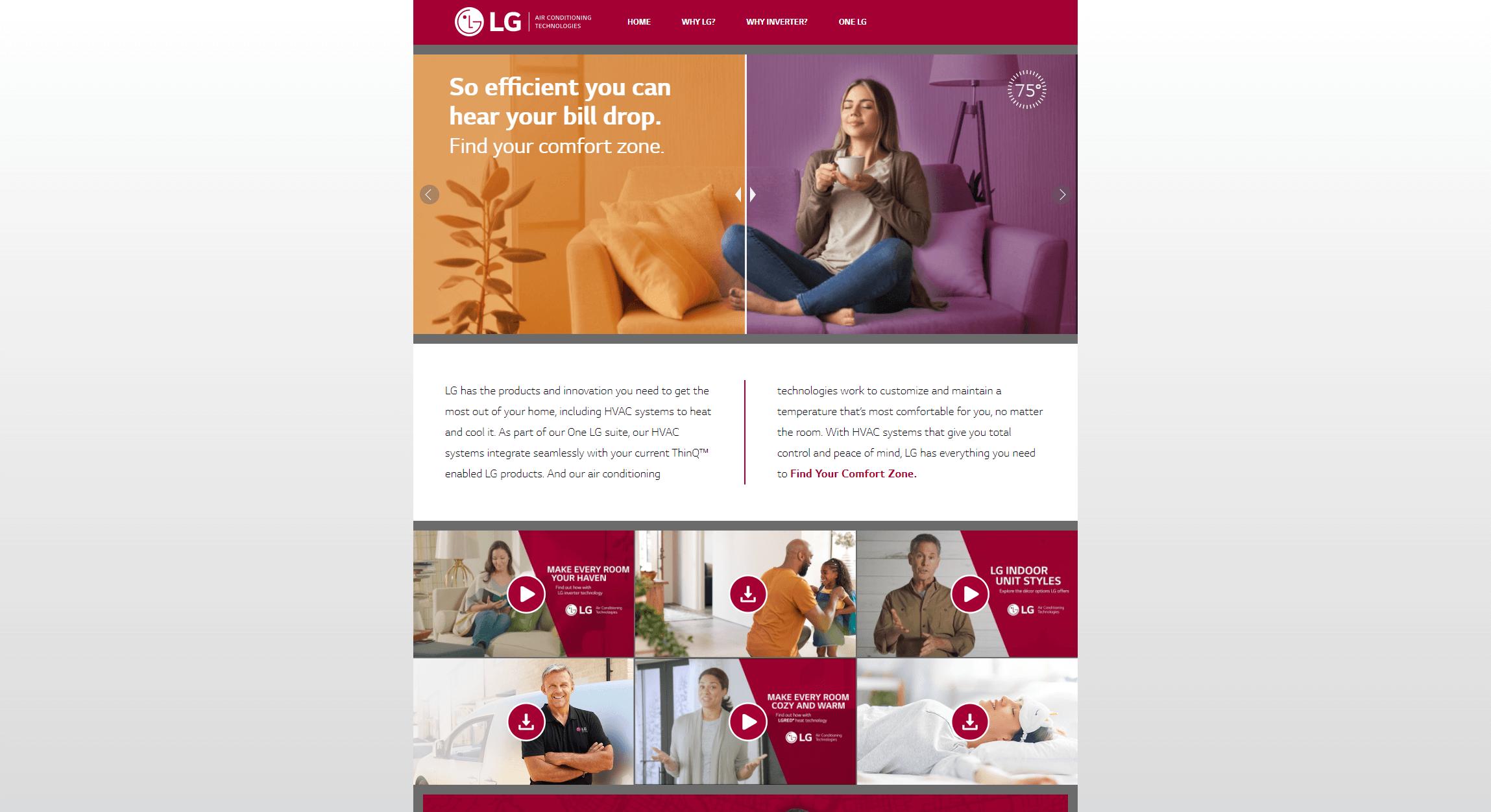 www.lgcomfortzone.com