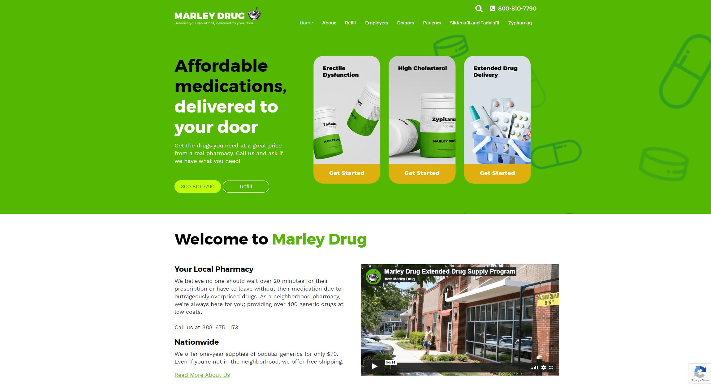 www.marleydrug.com
