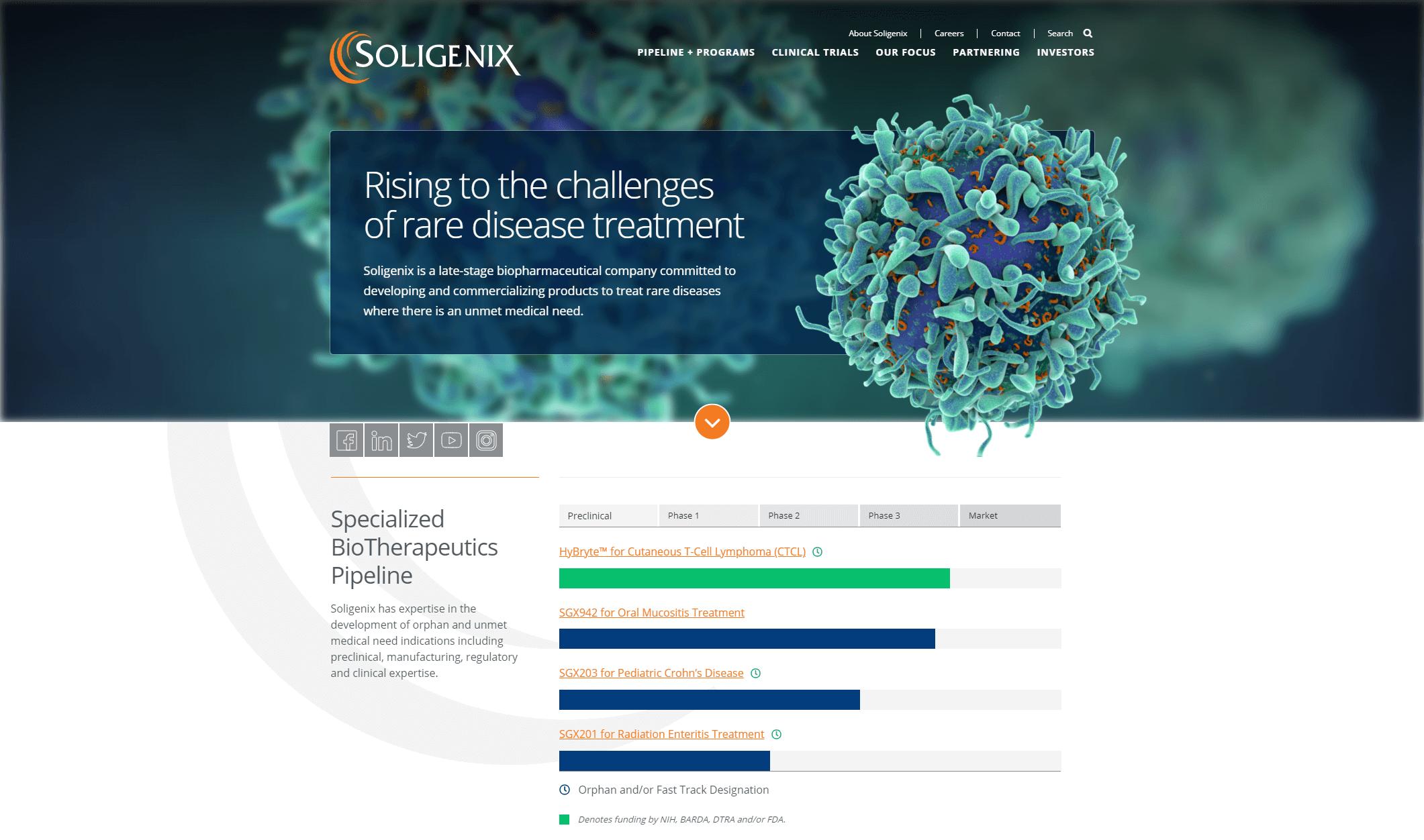 www.soligenix.com